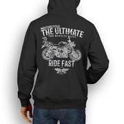 JL Ultimate Illustration For A Triumph Street Triple 2009 Motorbike Fan Hoodie