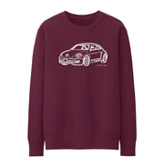 JL illustration for a Volkswagen Beetle 2012 Motorcar fan Jumper