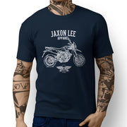 Jaxon Lee Illustration for a Aprilia Dorsoduro 750 Motorbike fan T-shirt