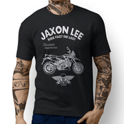 JL Ride Aprilia Dorsoduro 1200 inspired Motorbike Art T-shirts - Jaxon lee