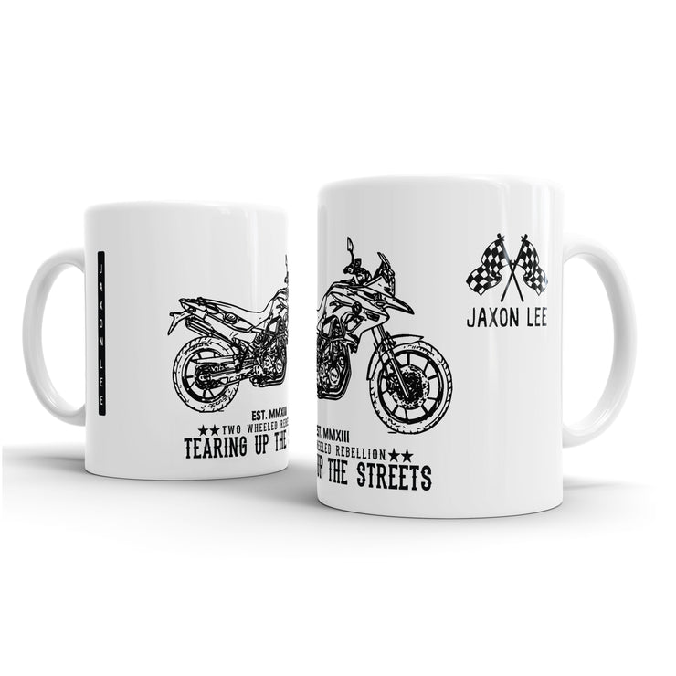 JL Illustration For A BMW F700GS Motorbike Fan – Gift Mug
