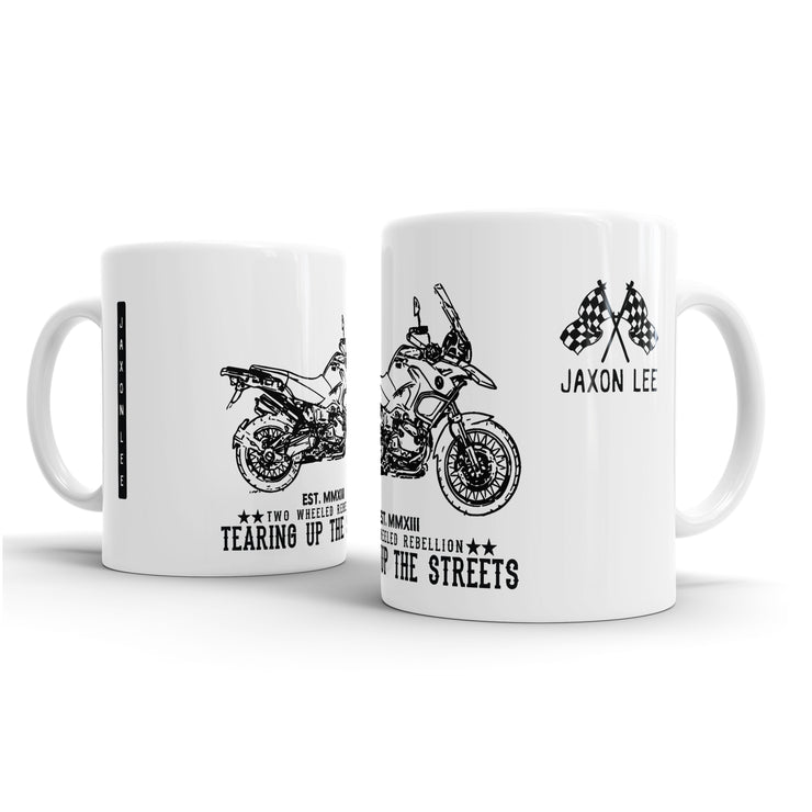 JL Illustration For A BMW R1200GS Adventure 2012 Motorbike Fan – Gift Mug