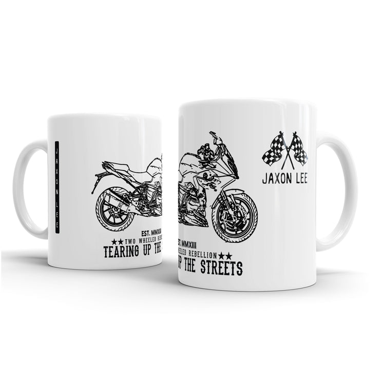 JL Illustration For A BMW R1200RS 2017 Motorbike Fan – Gift Mug