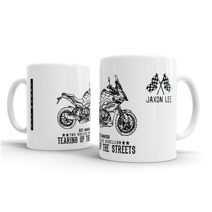 JL Illustration For A BMW S1000XR 2017 Motorbike Fan – Gift Mug