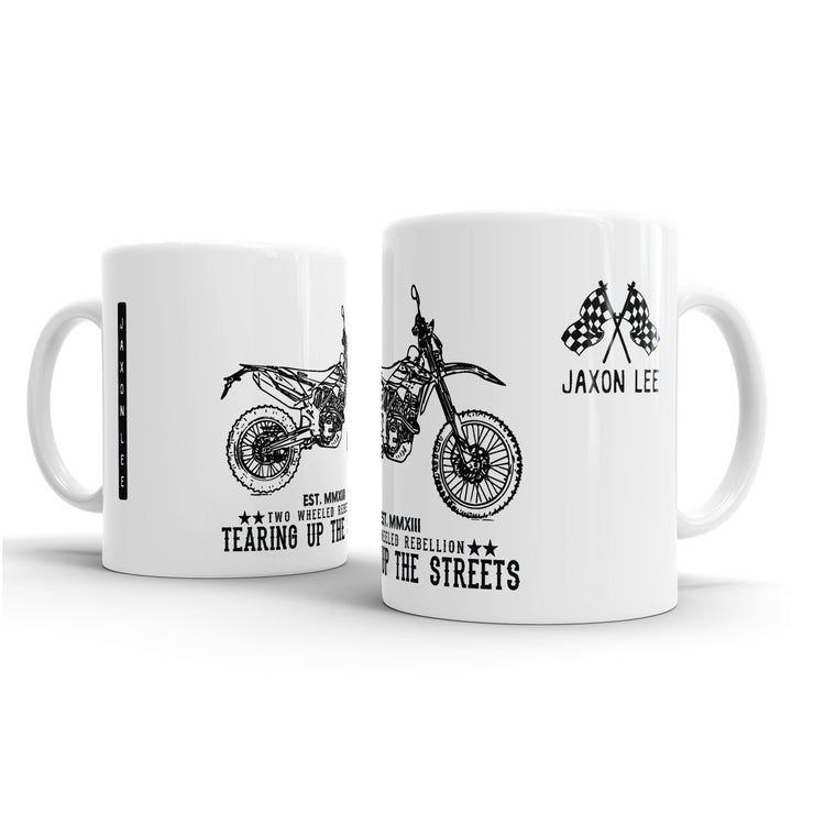 JL Illustration For A Beta RRS Motorbike Fan – Gift Mug