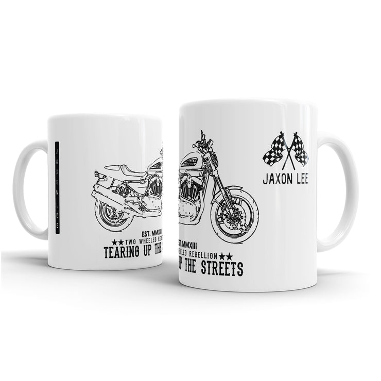JL Art Mug aimed at fans of Harley Davidson XR1200 2011 Motorbike