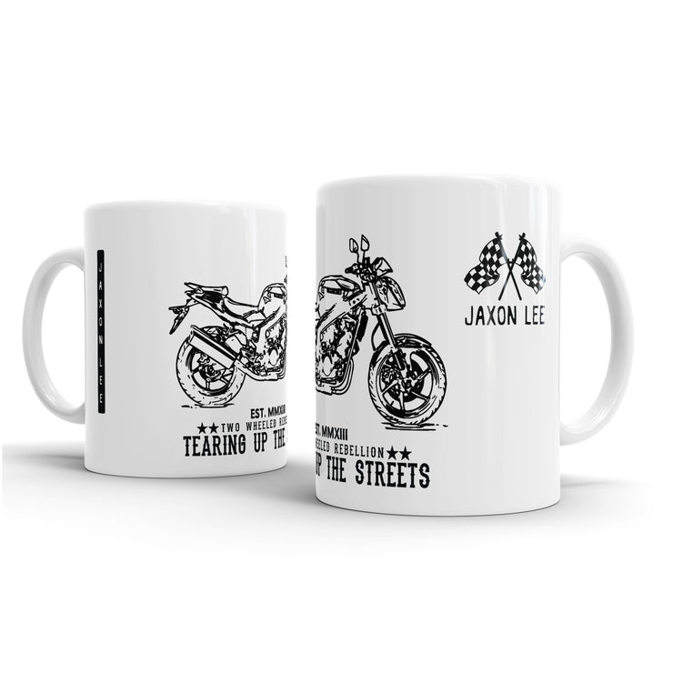 JL Illustration For A Hyosung GT250 Motorbike Fan – Gift Mug
