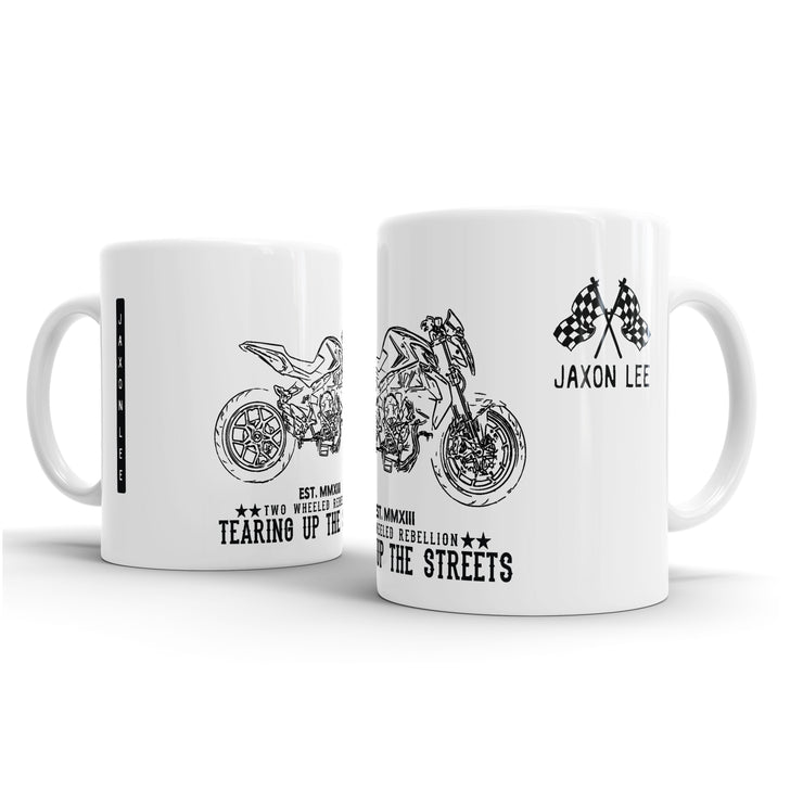 JL Illustration For A MV Agusta Brutale 800 2014 Motorbike Fan – Gift Mug