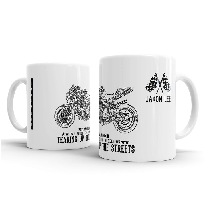 JL Illustration For A MV Agusta Brutale Corsa Motorbike Fan – Gift Mug