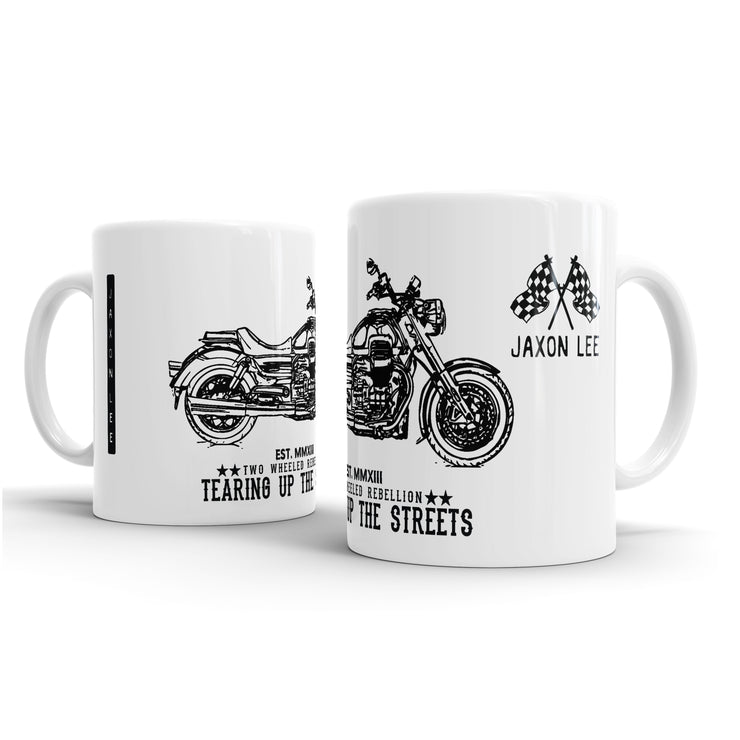 JL Illustration For A Moto Guzzi Eldorado Motorbike Fan – Gift Mug