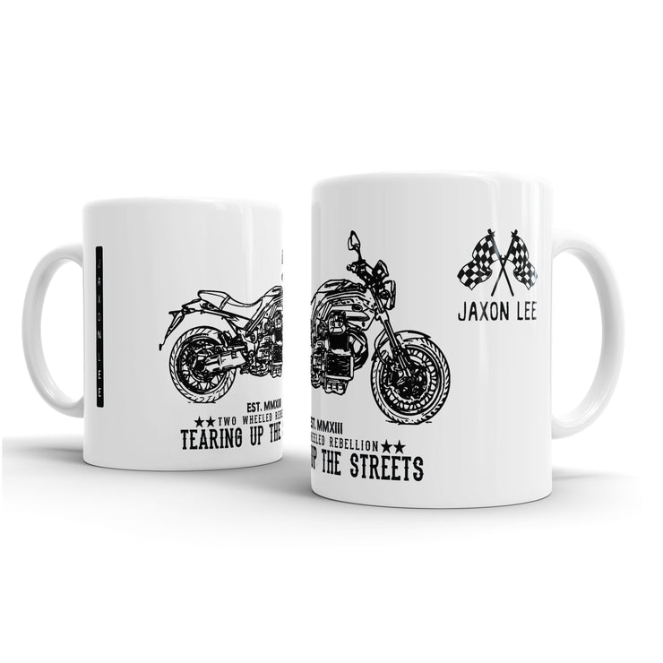 JL Illustration For A Moto Guzzi Griso 1200 8V SE Motorbike Fan – Gift Mug