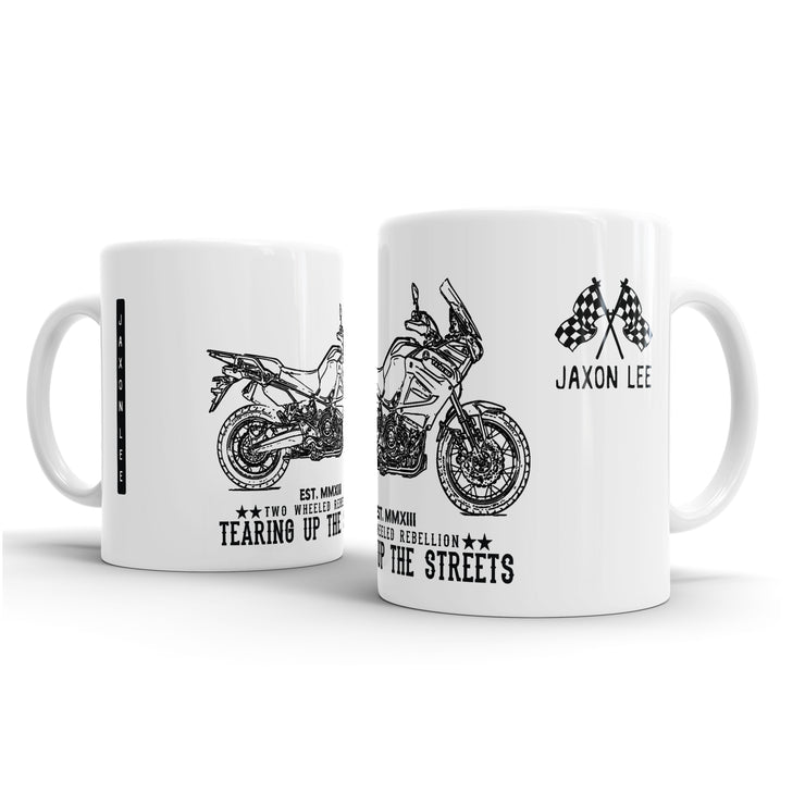 JL Illustration For A Yamaha Super-Tenere ES 2017 Motorbike Fan  – Gift Mug