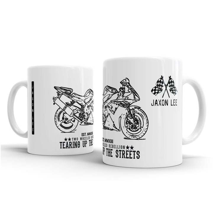 JL Illustration For A Yamaha YZF-R1 2003 Motorbike Fan – Gift Mug