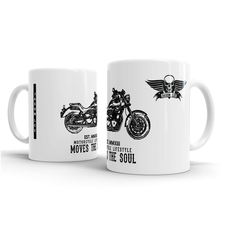 JL Art Mug aimed at fans of Triumph America Motorbike