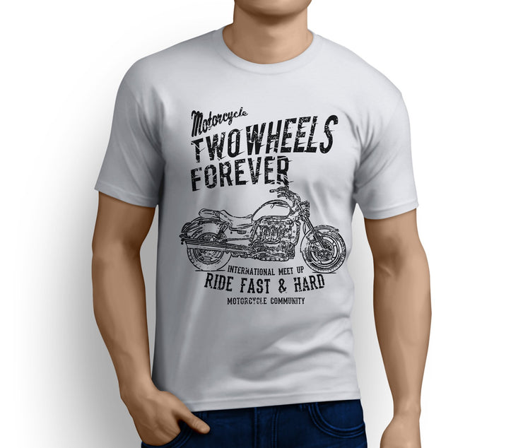 RH Triumph Art Tee aimed at fans of Rocket III Roadster Motorbike - Jaxon lee