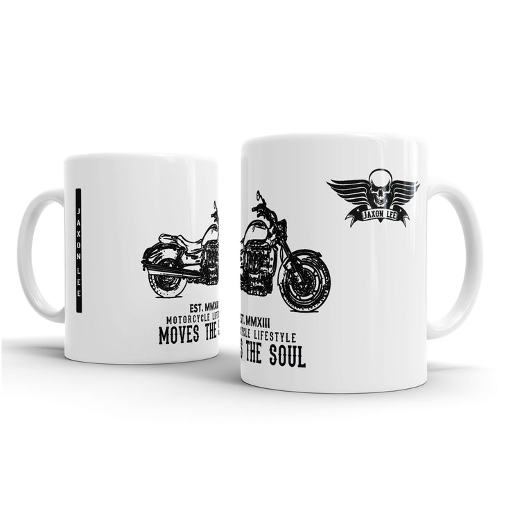 JL Triumph Rocket III Roadster Motorbike Illustration – Gift Mug