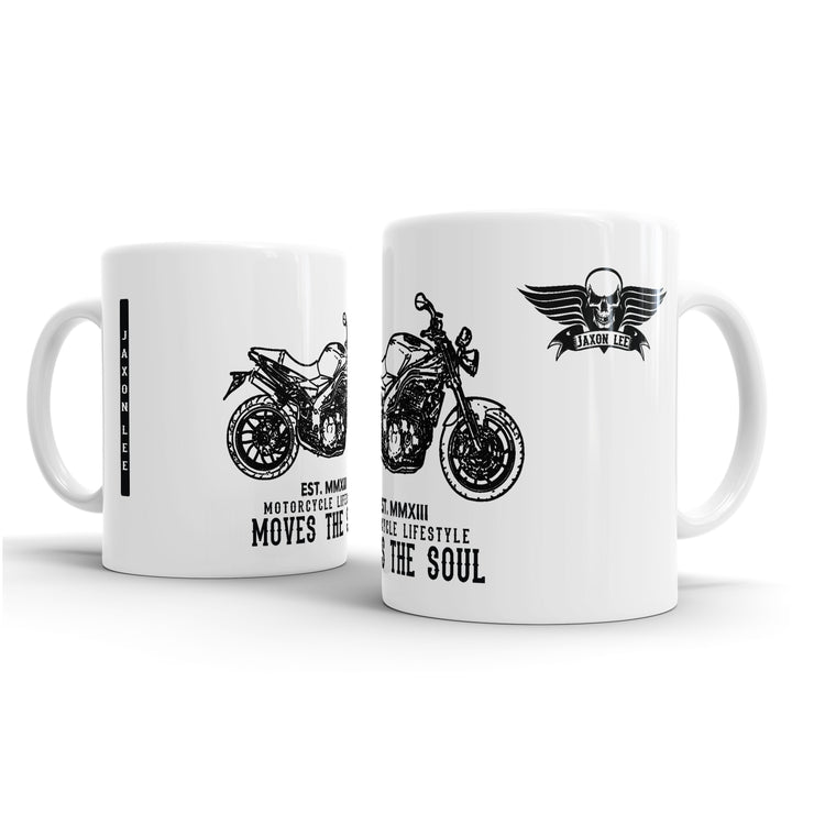 JL Triumph Speed Triple Motorbike Illustration – Gift Mug