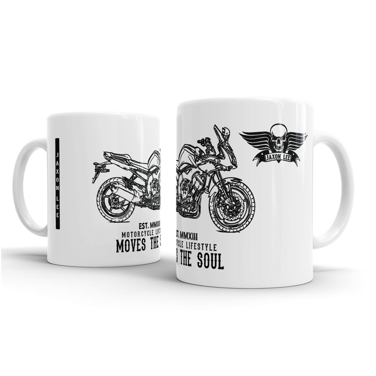 JL Illustration For A Yamaha FZ1 2013 Motorbike Fan – Gift Mug