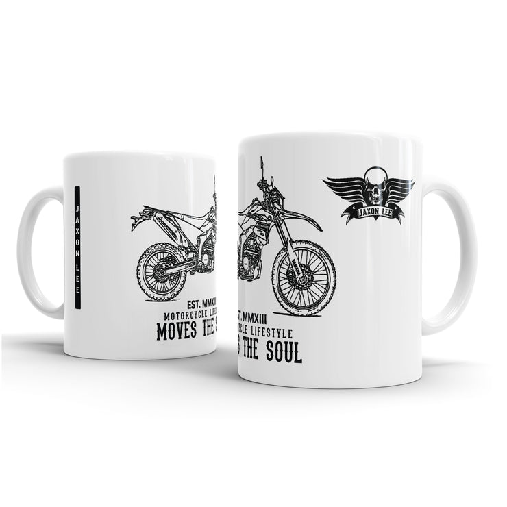 JL Illustration For A Yamaha WR250R 2017 Motorbike Fan – Gift Mug