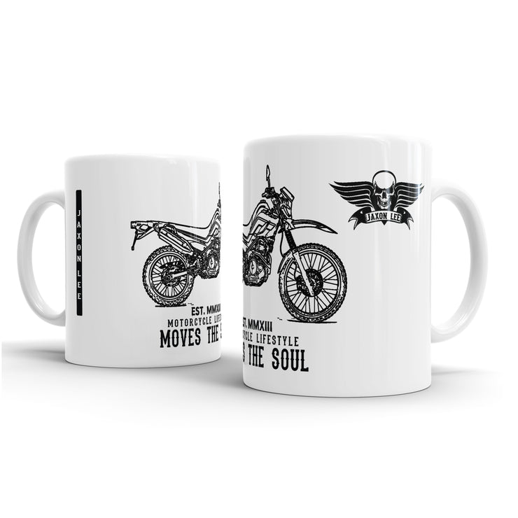 JL Illustration For A Yamaha XT 250 Motorbike Fan – Gift Mug