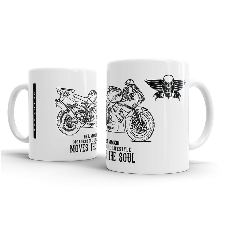 JL Illustration For A Yamaha YZF-R1 1999 Motorbike Fan – Gift Mug