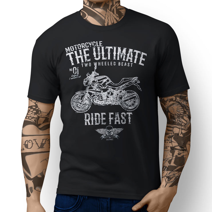 JL Ultimate Illustration For A BMW R1200R 2012 Motorbike Fan T-shirt - Jaxon lee