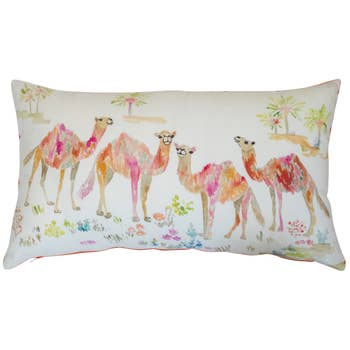 Betsy Olmsted 24x14 Camel Pillow