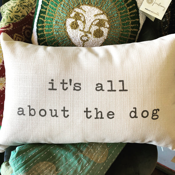 Pillow - All About the Dog