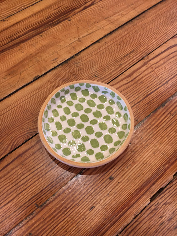 Terrafirma Ceramics Citrus Dot Bottle Coaster