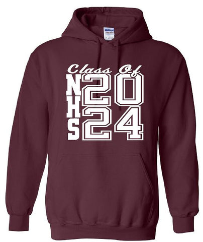 Gildan - Heavy Blend™ Hooded Sweatshirt Class of 2024