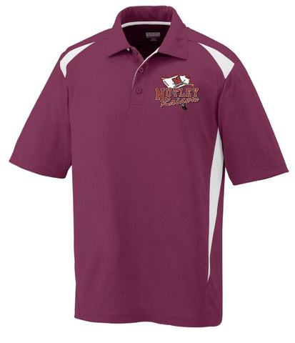 AUGUSTA SPORTSWEAR PREMIER POLO EMBROIDERED LEFT CHEST