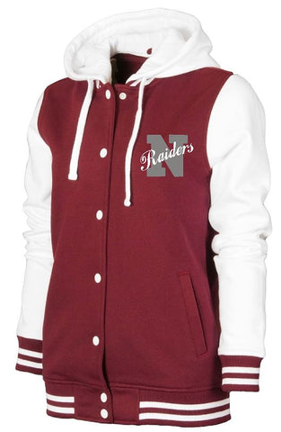 Embroidered Lightweight Letterman Varsity style Jacket