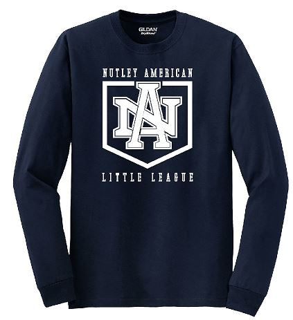 Gildan - Heavy Cotton™ Long Sleeve T-Shirt. ( Nutley American)