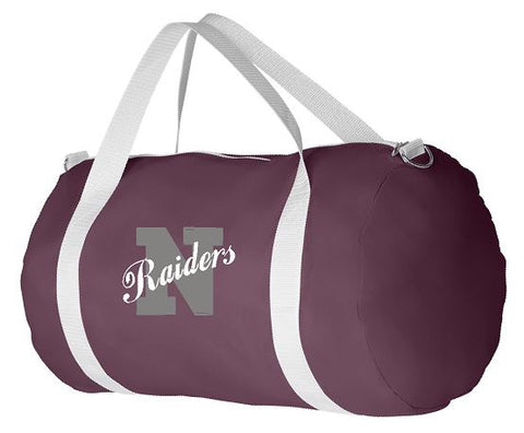 EMBROIDERED Augusta Sportswear - 210-Denier Nylon Sports Bag
