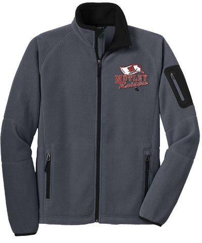 Port Authority® Enhanced Fleece Full-Zip Jacket Embroidered Left Chest