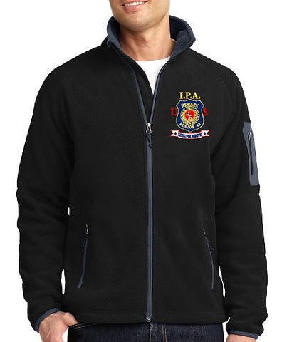 Port Authority® Enhanced Fleece Full-Zip Jacket Embroidered Left Chest (2 Colors)