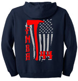 Gildan - Heavy Blend™ Full Zip Hooded Sweatshirt (Navy)
