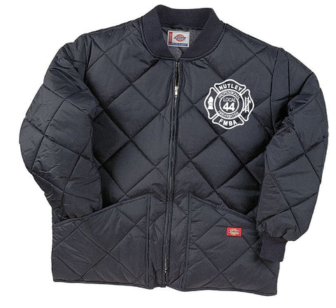 Dickies  Diamond Quilted Nylon Jacket Embroidered Left Chest