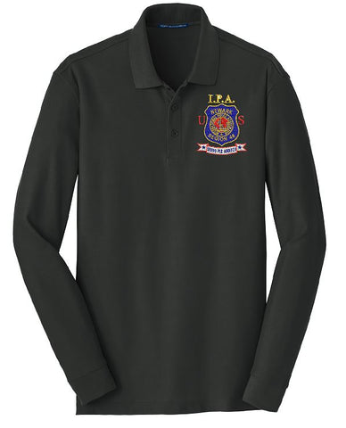 Port Authority® Long Sleeve Core Classic Pique Polo