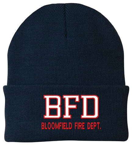 BFD Embroidered Knit Hat