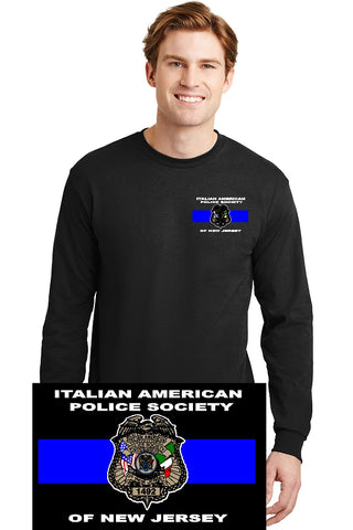 Long Sleeve T-Shirt, IAPSNJ Print on right sleeve