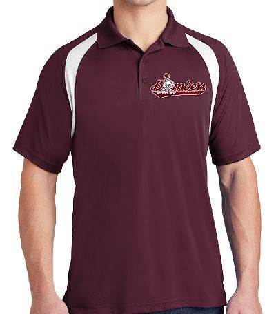 Sport-Tek® Dry Zone® Colorblock Raglan Polo