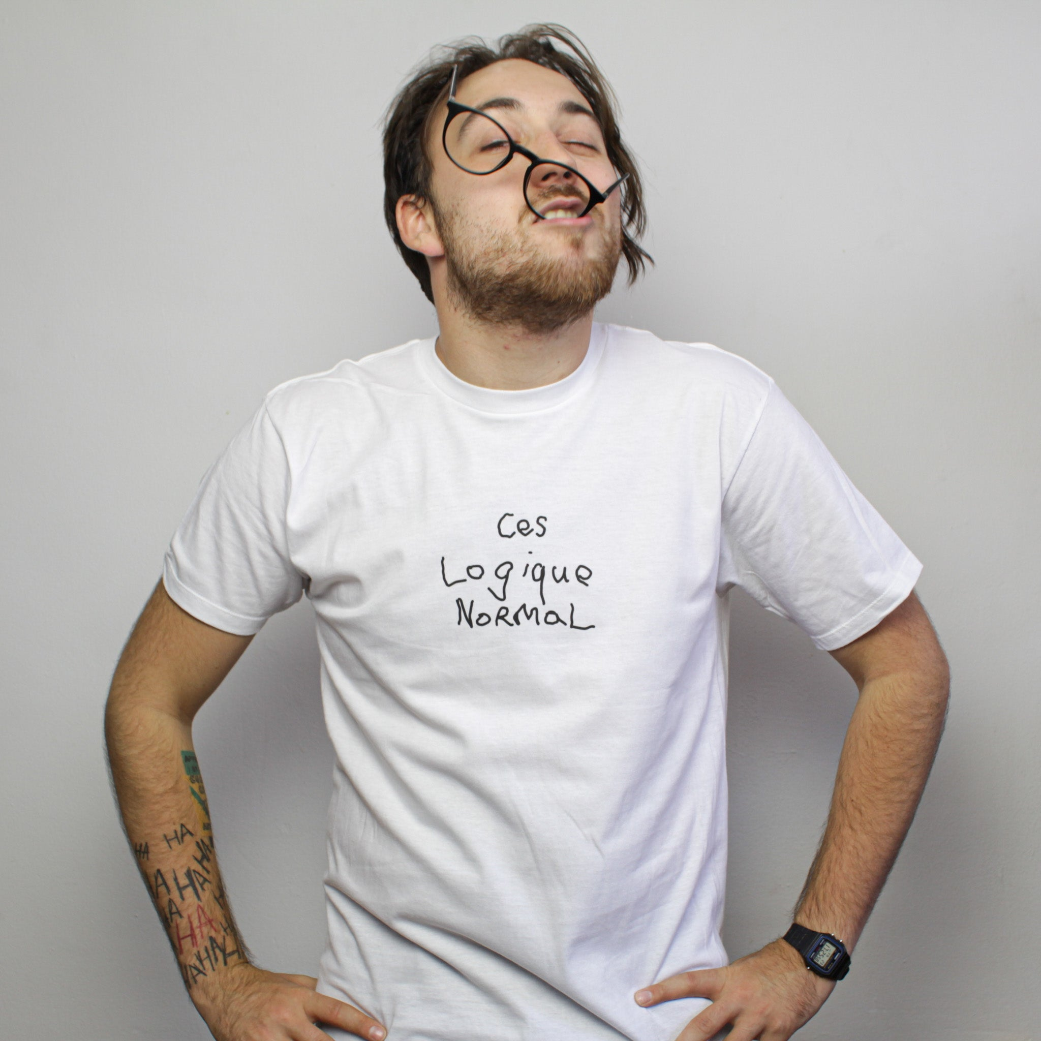 T-shirt | Logique Normal - Unisexe - WTFKeV