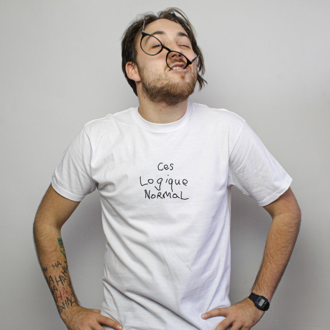 T-shirt | Logique Normal - Unisexe