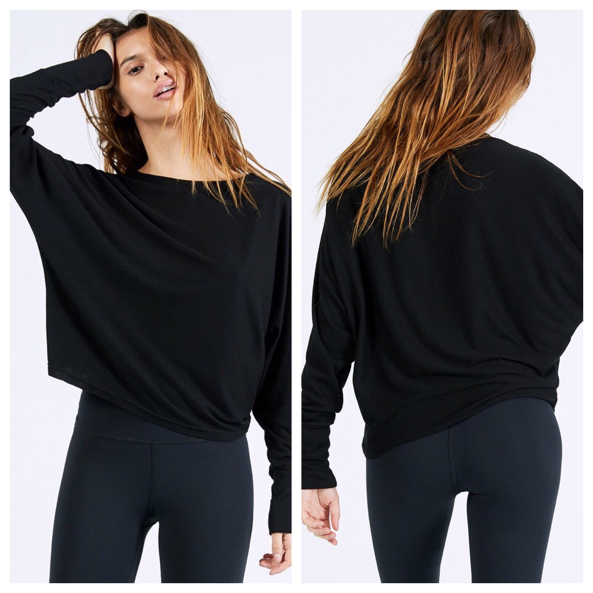 Joah Brown Vital Long Sleeve (Black Rib)