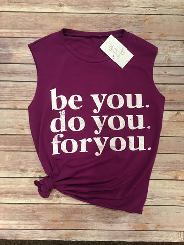 Be You Tank (Purple)