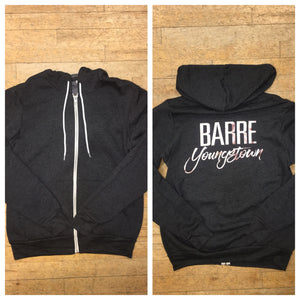 Barre Yo Hooded Sweatshirt (grey)