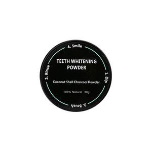 Organic Activated Charcoal Teeth Whitening Polish