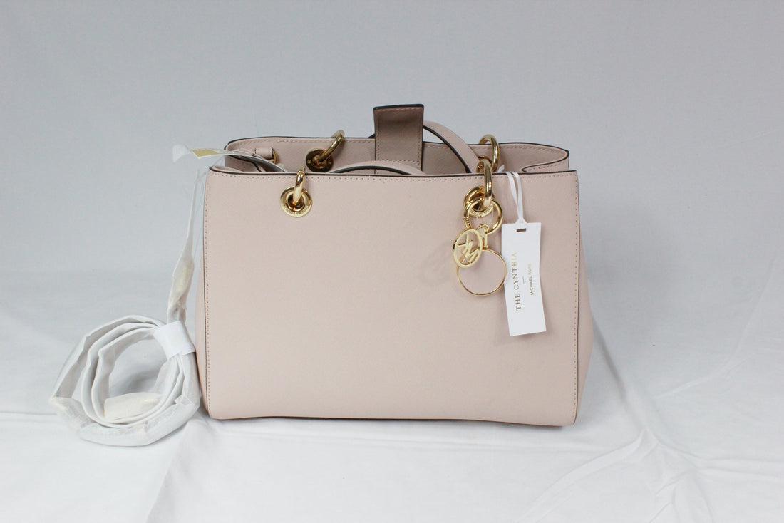 b5cd703518ff SOLD OUT Michael Kors Cynthia Small East West Satchel Soft Pink
