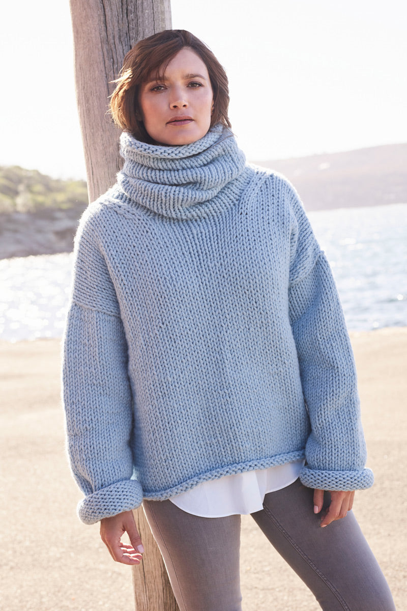 Ingrid in Super Chunky Cashmere